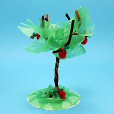 Fuzzy Sticks, Chenille Stem Pipe Cleaner Tree