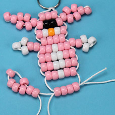 How to make a bead pet