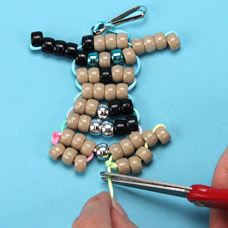 How to make a dog bead pet