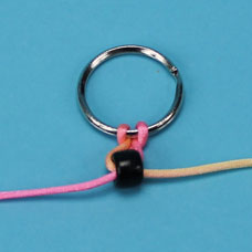 Keychain pony bead bead pet