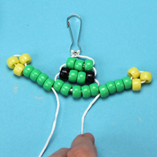 Pony Bead Pet Frog