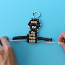 How to make a monkey bead pet