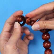 Multicultural Bead People Sculpture