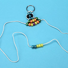 Instructions to make a turtle bead pet