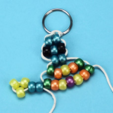 Make a turtle bead pet with Pony Beads