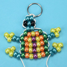 How to make a turtle bead pet with pony beads