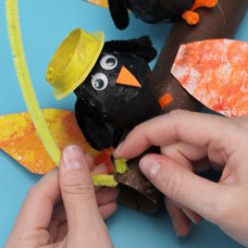 recycled fall craft