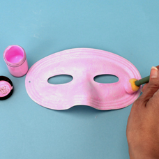 Kids Craft Butterfly Mask