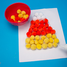 To Download Our Free Candy Corn Printable Click The Template Button Under Image Of This Project Preschoolers
