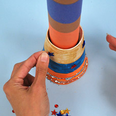 Paper Craft Telescope