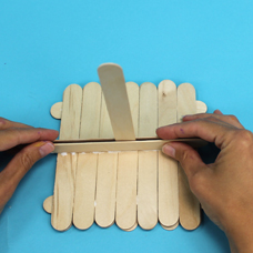 Jumbo craft stick raft