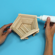 wooden craft stick project