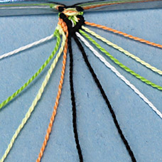 Friendship bracelet string