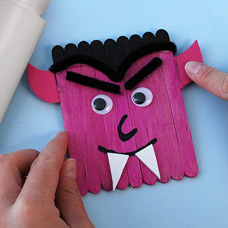 Halloween Dracula Craft