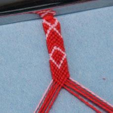 Friendship Bracelet X's and O's