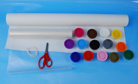finger paint supplies