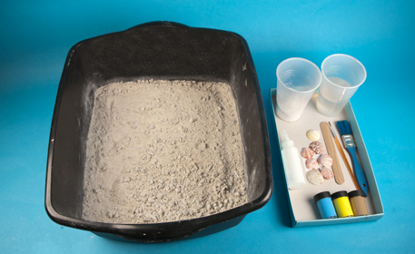 Footprints In The Sand Craft Project