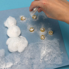 Glittered Snowman Kids Craft