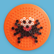 Spider shape using Melty Beads