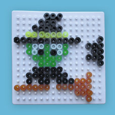 Witch craft using Melty Beads