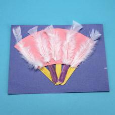 Children's fan craft