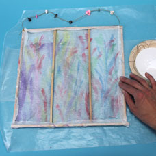 Kids Arts and Crafts Paper Screen