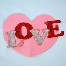Valentine Card Display