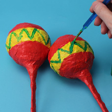 Paint your own maracas