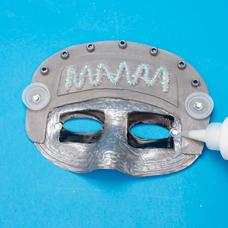 robot mask craft project ideas