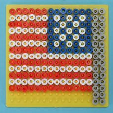 Melty Bead American Flag