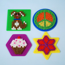 Melty Bead Locker Magnets