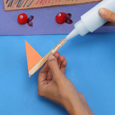 Origami Boat art project for preschool