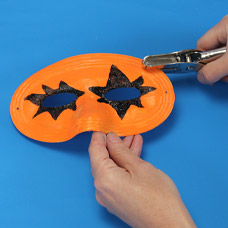 Decorate your Halloween Mask