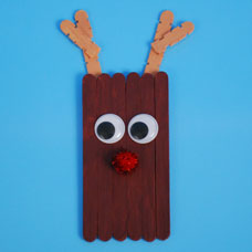 Make a Reindeer Ornament Craft for Kids