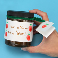 Honey Jar Craft for the Jewish New Year
