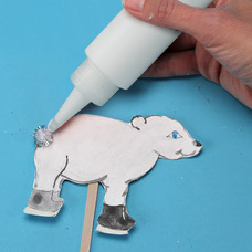 Decorate your polar bear