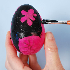 Ukrainian Inspired Painted Eggs