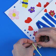 Wall Pocket Valentine's Display