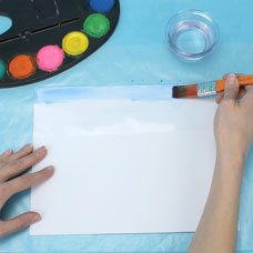 watercolor lesson for kids