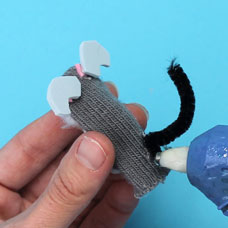 finger puppet kids craft