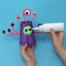 Make a monster kids craft