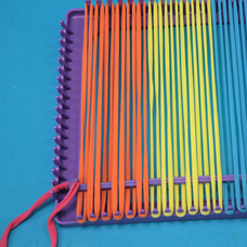 sc 1 st  Craft Project Ideas & How to Use A Weaving Loom to Make a Potholder - Craft Project Ideas