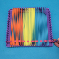 How To Use A Weaving Loom Make Potholder Craft