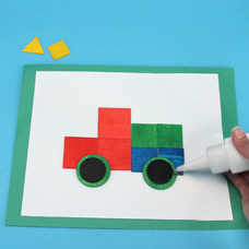 Make a Father's Day Card with preschoolers