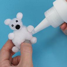 Make a Pom Polar Bear