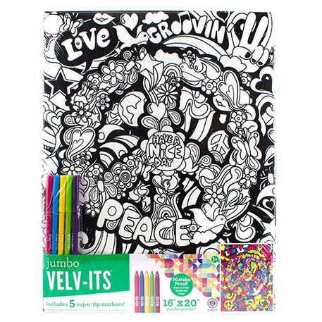 Velv Its Jumbo Peace Sign Poster Craft Project Ideas