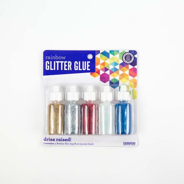 Glitter Glue Basic Colors Craft Project Ideas