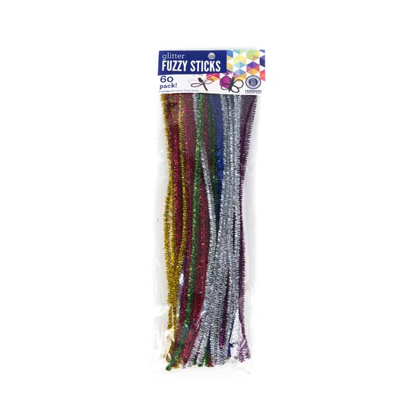 fuzzy sticks craft ideas glitter fuzzy sticks craft project ideas 4539