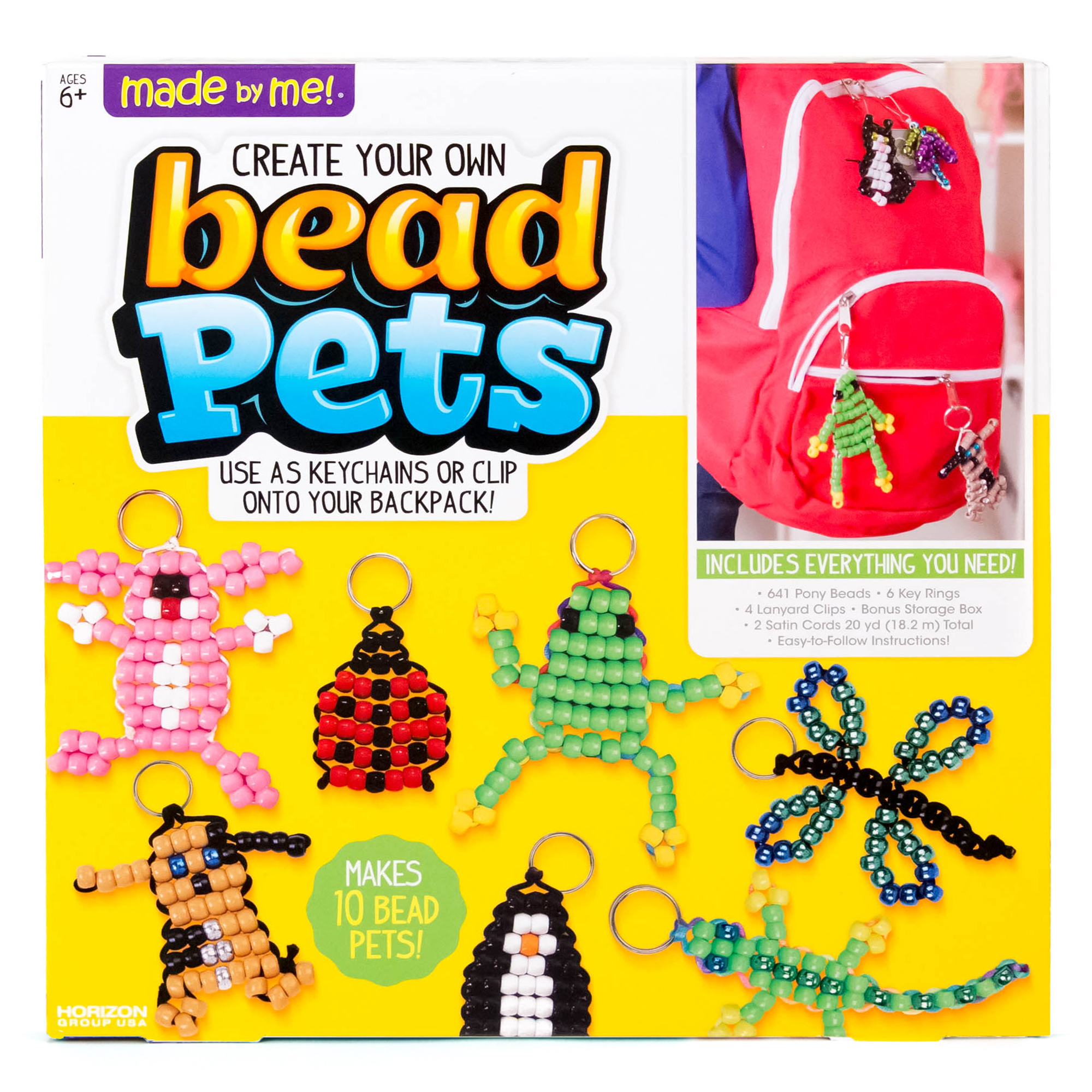 Made by Me™ Bead Pets - Craft Project Ideas