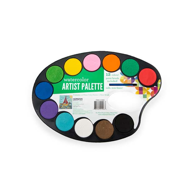 Watercolor Paint Palette Available At Walmart